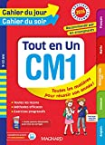 Cahier du jour/Cahier du soir Tout en Un CM1 - Nouveau programme 2016