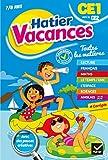 Cahier de vacances du CE1 vers le CE2