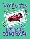 Livre de Coloriage Voitures : Livre de Coloriage Voitures pour les garçons 4-8 ans!