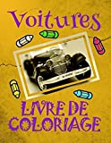 Livre de Coloriage Voitures : Livre de Coloriage Voitures enfants 4-9 ans!