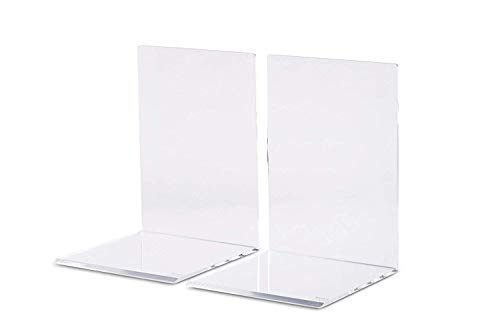 Maul 3513505 Lot de 2 Serre-livres Transparent