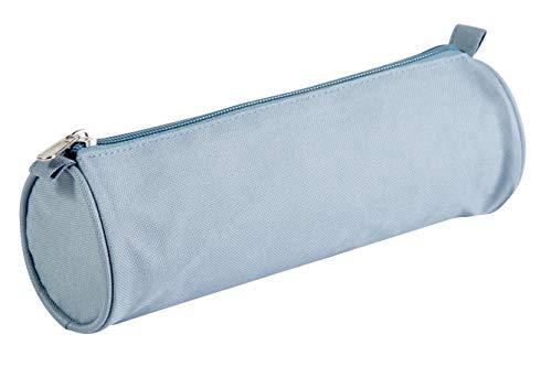 Clairefontaine 8468C - Une trousse textile ronde Basic 22 cm diamère 7 cm, couleur aléatoire
