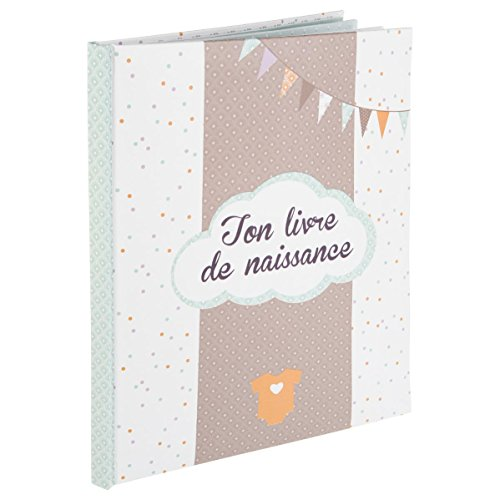 Mon livre de naissance Mixte - Coloris TURQUOISE Menthe