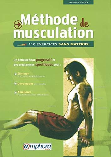 Méthode de musculation: 110 exercices sans matériel