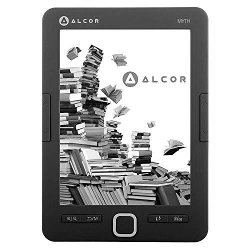 Alcor Myth 599561502632 Liseuse électronique 4 Go Noir Taille Unique