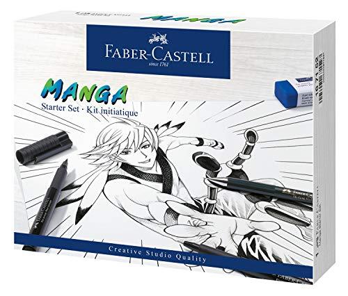 Manga Set de démarrage Pitt Artist Pen, Faber-Castell