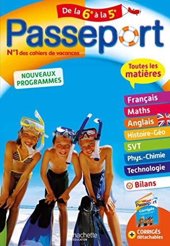 Passeport - Toutes les matières de la 6e à la 5e - Cahier de vacances 2021