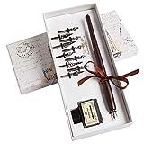 Hethrone Calligraphy Pen Set Fountain Dip Pen et stylo à encre avec 11 pointes et ensemble de calligraphie à l'encre noire pour les débutants Perfect Gift