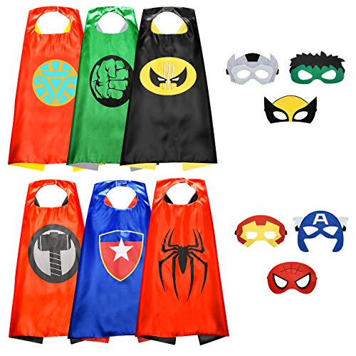 Easony Jouet Garcon 3 4 5 6-10 Ans, Deguisement Super Hero Cadeaux Garcon 5-10 Ans Jouet Garcon Costume Spiderman Enfant Anniversaire Cadeau Enfant 3-10 Ans Garcon Jouets pour Enfants de 3-10 Ans