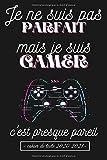 Je suis gamer: Cahier de texte garcon , Cahier scolaire (matiere , date , texte) , Format Pratique , Organiser votre nouvelle année scolaire.