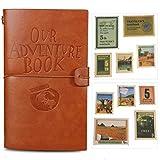 Notre livre d'aventure Journal Bloc-notes en cuir Bloc-notes Journal de voyage Agenda quotidien Cadeau de Noël