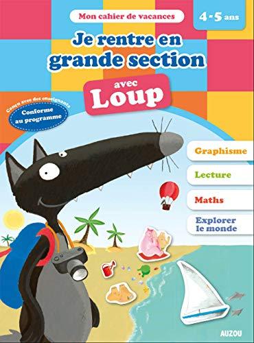 Cahiers de vacances de Loup - de la moyenne à la grande section (ed. 2020)