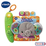 VTech- Kid Baby Livre à Surprises, 80-189305