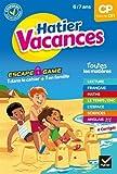 Cahier de vacances 2020 du CP vers le CE1 6/7 ans