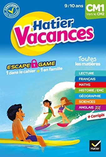 Cahier de vacances 2020 du CM1 vers le CM2 9/10 ans (Hatier Vacances Primaire)