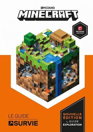 Minecraft, Guide survie- Livre officiel Mojang - à partir de 8 ans
