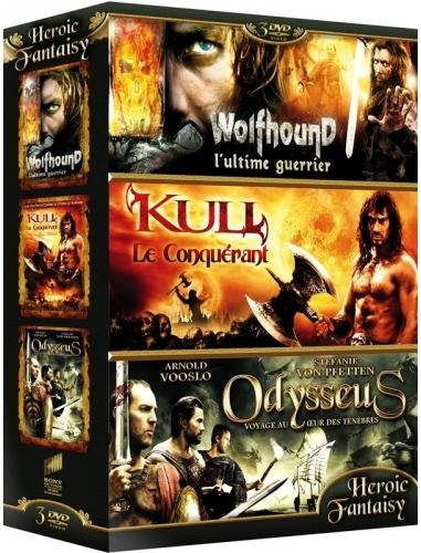 Coffret Heroic Fantasy n° 2 : Wolfhound + Kull Le conquérant + Odysseus