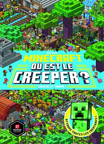 Minecraft:Où est le creeper?: Cherche et trouve!